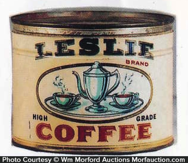 Leslie Coffee Can