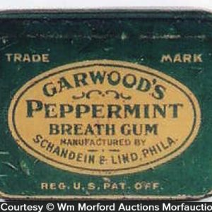 Garwood's Peppermint Gum Tin