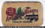 American Beauty Tobacco Tin