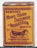 Newton's Veterinary Tin