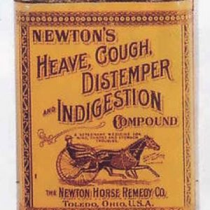 Newton's Veterinary Tin