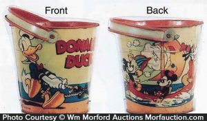 Donald Duck Sand Pail