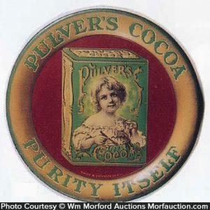 Pulver's Cocoa Tip Tray