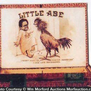Little Abe Cigar Box