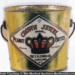 Crown Jewel Peanut Butter Pail