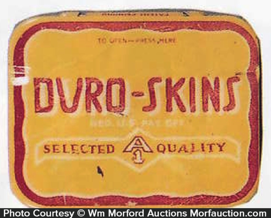 Duro-Skins Condom Tin