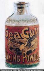 Sea Gull Baking Powder Bottle