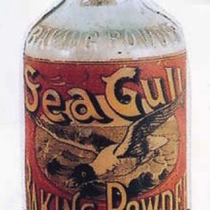 Sea Gull Baking Powder Bottle