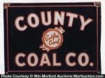 County Coal Sign
