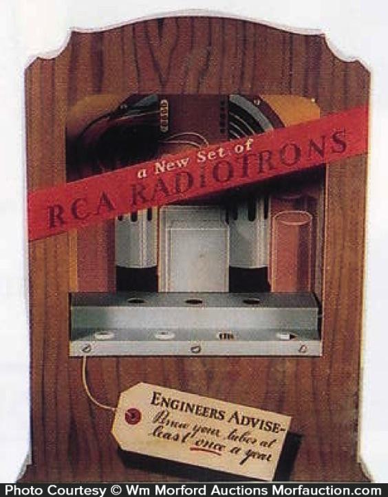 Rca Radiotron Display