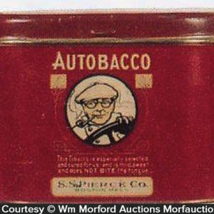 Autobacco Tobacco Tin