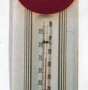 Coca-Cola In Bottles Thermometer