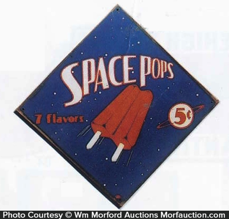 Space Pops Sign