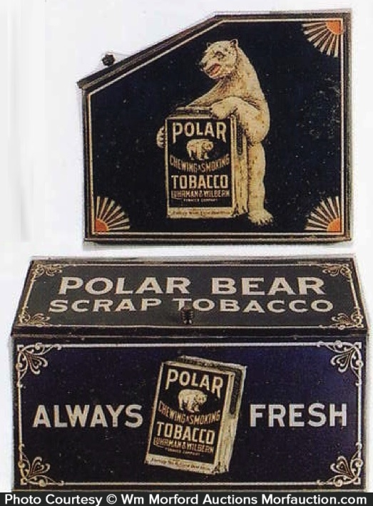 Polar Bear Tobacco Bin