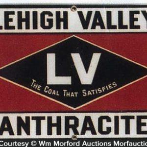 Lehigh Valley Coal Sign