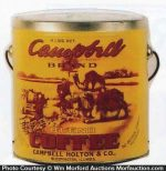 Campbell Coffee Pail