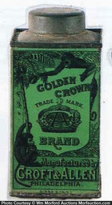 Golden Crown Coconut Tin