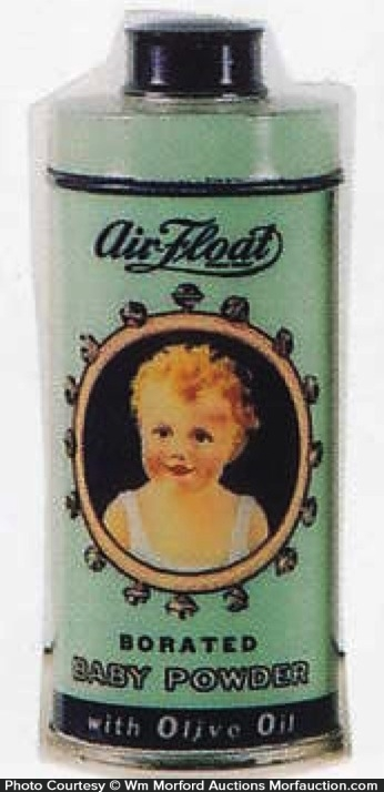 Air-Float Baby Powder Tin
