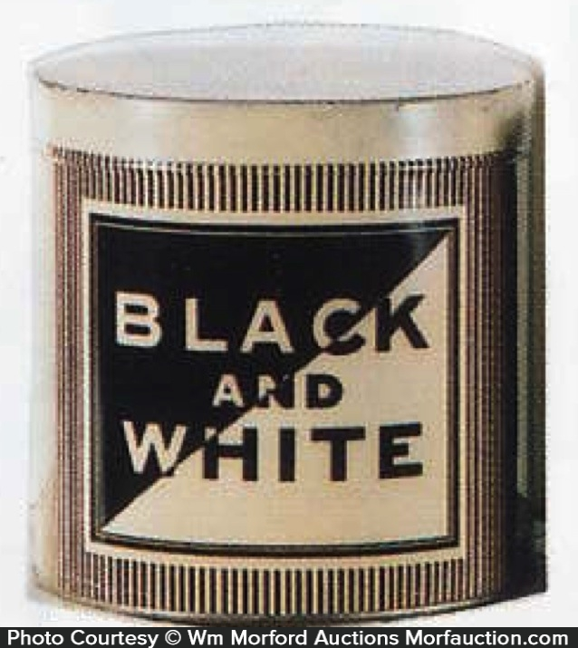 Black & White Cigar Can