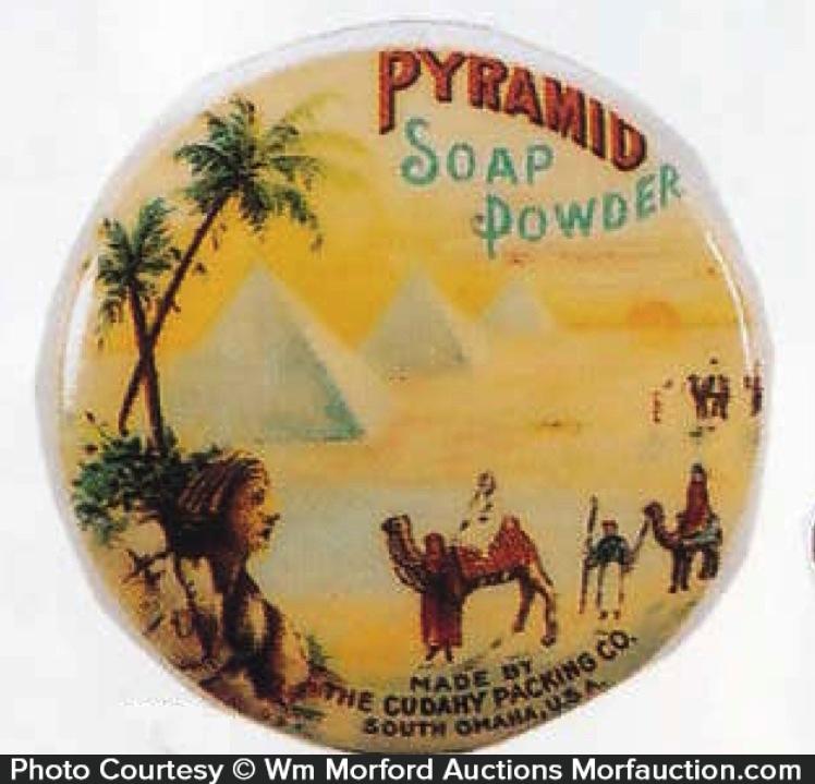 Pyramid Soap Powder Mirror