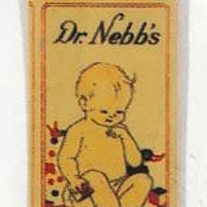 Dr. Nebb's Baby Powder Tin