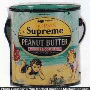 Morris Supreme Peanut Butter Pail