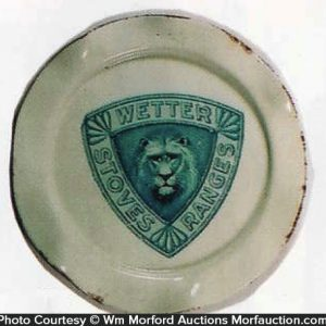 Wetter Stoves Ashtray