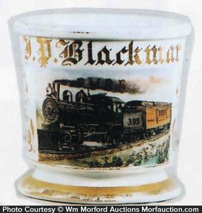 Railroad Shaving Mug