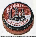 Banner Ox-Blood Shoe Polish Tin