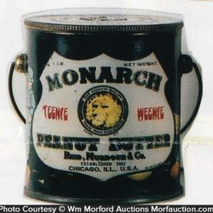 Monarch Peanut Butter Pail
