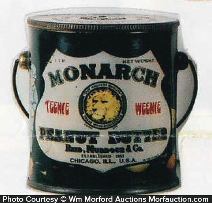 Monarch Peanut Butter Pail