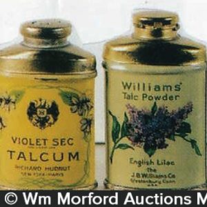 Vintage Talcum Sample Tins
