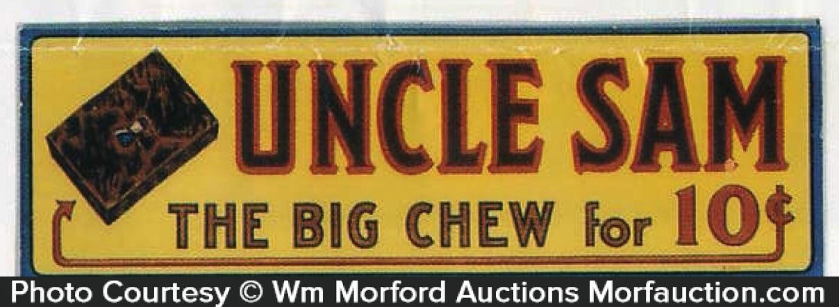 Uncle Sam Tobacco Sign