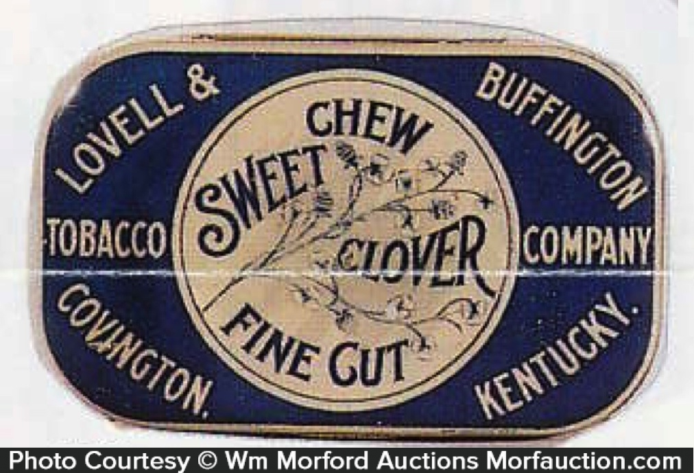 Sweet Clover Tobacco Tin