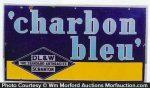 Charbon Bleu Coal Sign