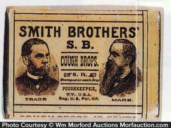 Smith Brothers Cough Drops Pocket Tin