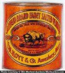 Buffalo Peanuts Tin