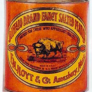 Buffalo Peanuts Tin
