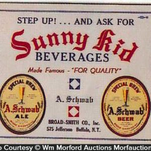 Sunny Kid Beverages Sign