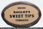 Bagley's Sweet Tips Tobacco Knife Stone