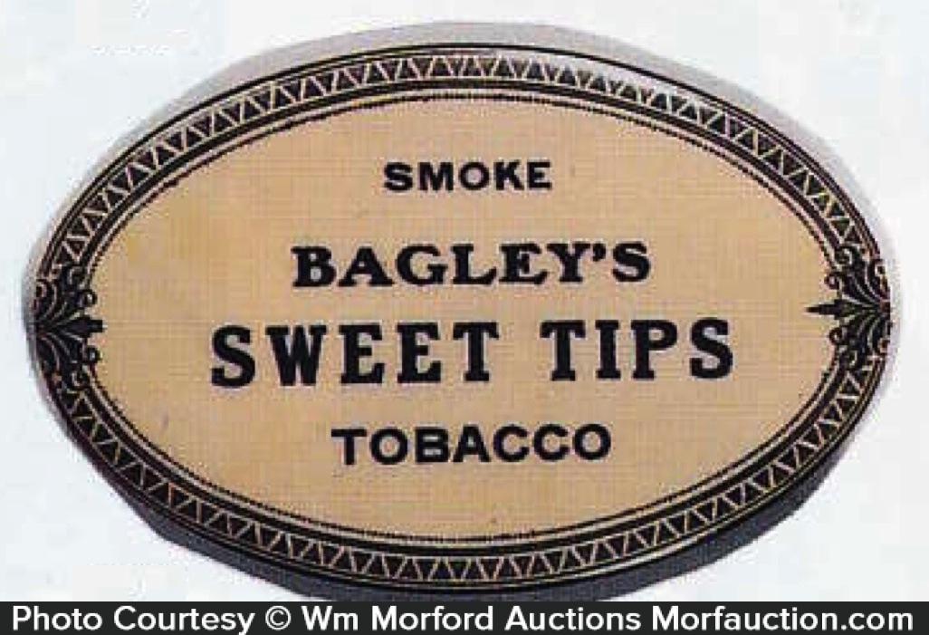 Bagley's Sweet Tips Tobacco Knife Stone