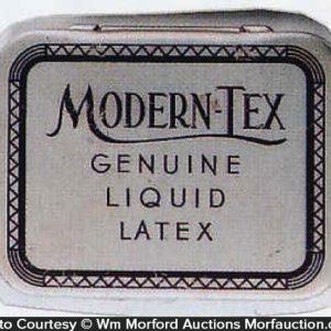 Modern-Tex Condom Tin