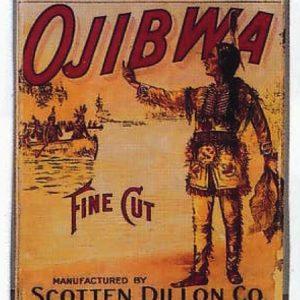 Ojibwa Tobacco Bin