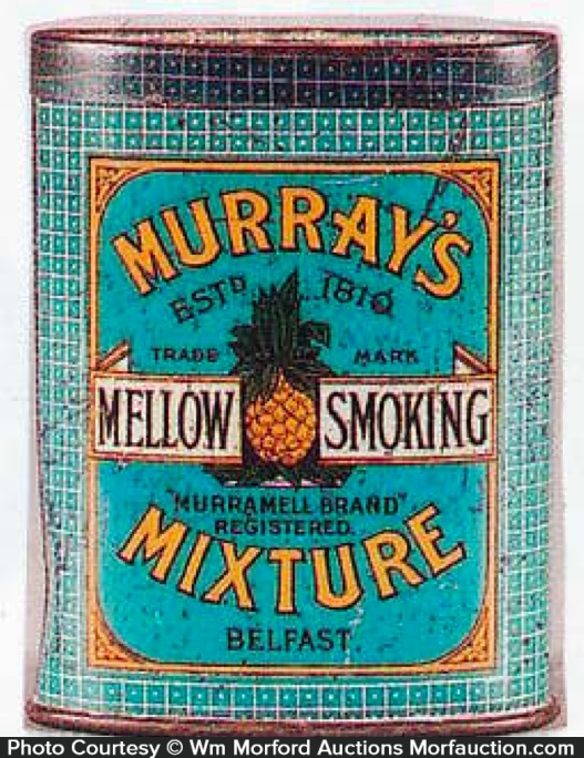 Murray's Mixture Tobacco Tin