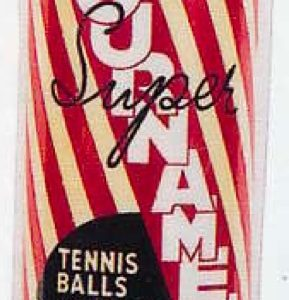 Tournament Tennis Ball Can