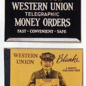 Western Union Blanks