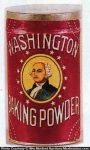 Washington Baking Powder Tin