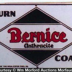 Bernice Coal Sign