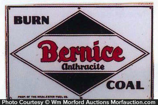 Bernice Coal Sign