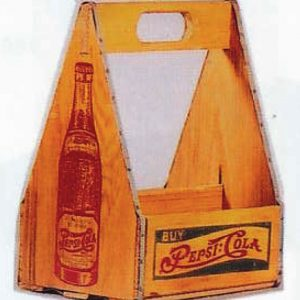 Pepsi Wooden Carrier